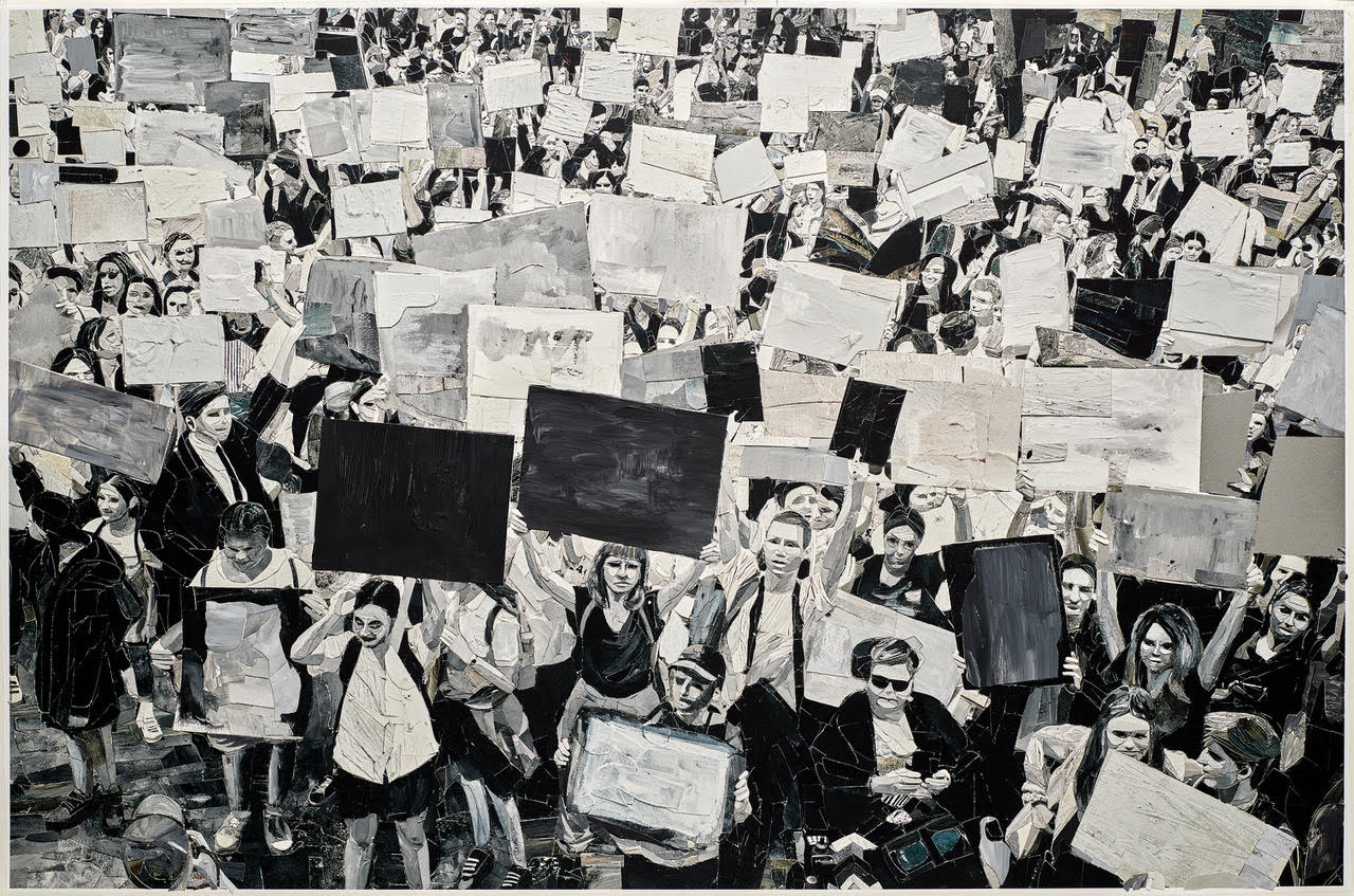Vik Muniz - Protest